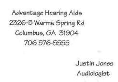advantage hearing aids