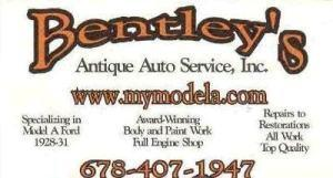 bentleys antique auto service