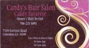 candys hair salon