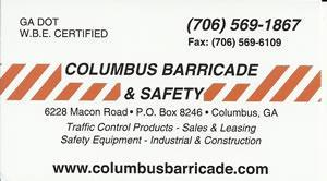 columbus barricade safety